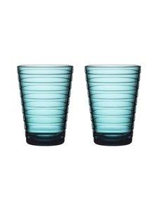 Iittala - Aino Aalto -juomalasi 33 cl, 2 kpl - MERENSININEN | Stockmann