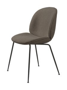 Gubi - Beetle-tuoli - LIGHT BOUCLÉ 004/BLACK MATT | Stockmann