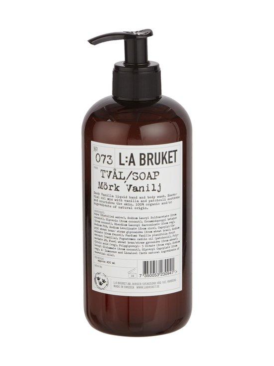 L:A Bruket - No 73 Dark Vanilla -nestesaippua 450 ml | Stockmann - photo 1