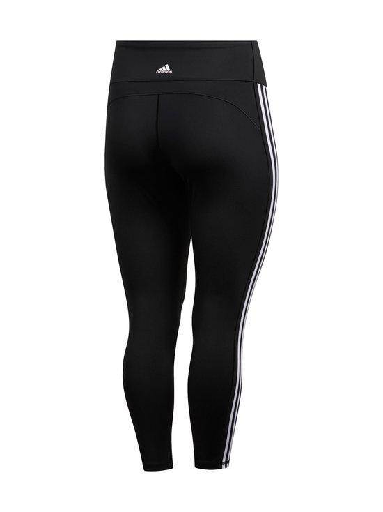 adidas Performance - Believe This 3-Stripes 7/8 Plus Size -treenitrikoot - BLACK/WHITE   Stockmann - photo 2