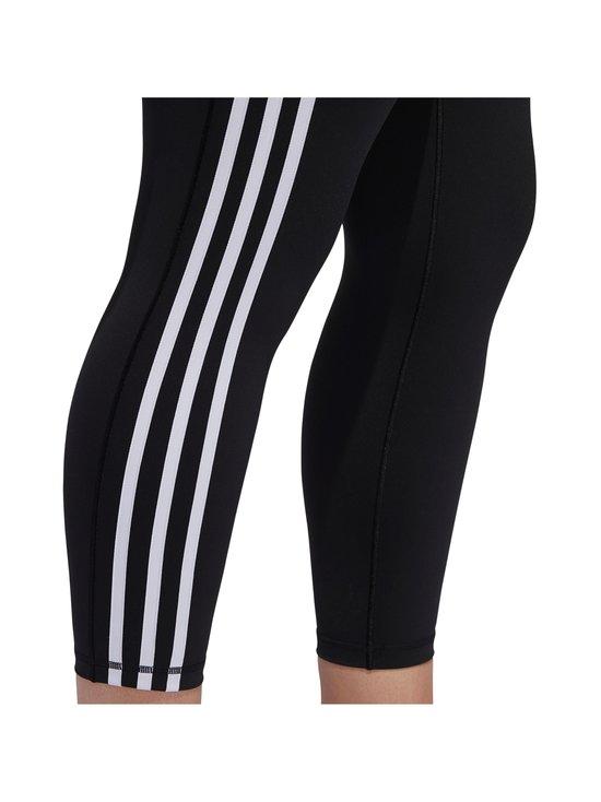 adidas Performance - Believe This 3-Stripes 7/8 Plus Size -treenitrikoot - BLACK/WHITE | Stockmann - photo 4