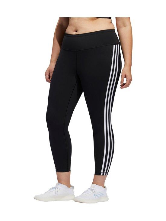 adidas Performance - Believe This 3-Stripes 7/8 Plus Size -treenitrikoot - BLACK/WHITE   Stockmann - photo 8
