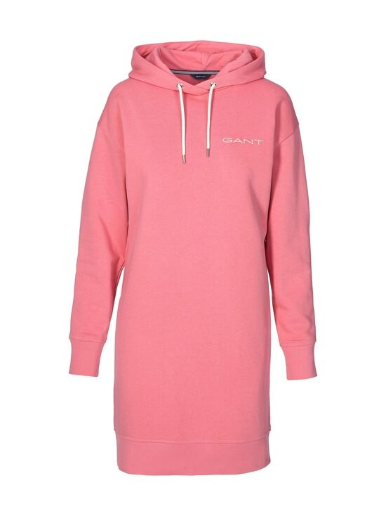 GANT - 13 Stripes Hoodie Dress -collegemekko - 623 CHATEAU ROSE | Stockmann - photo 1