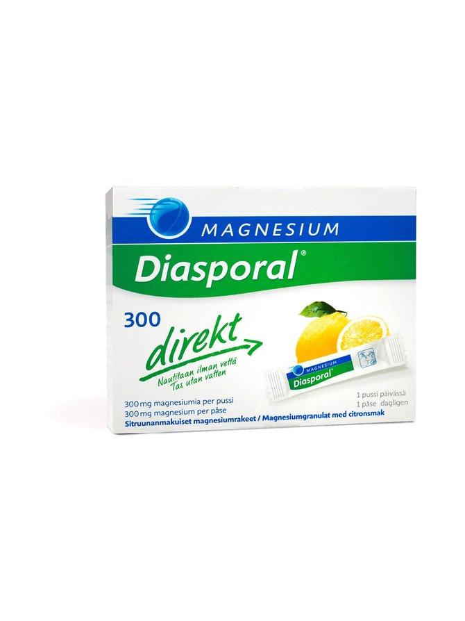Diasporal Direkt Magnesium 300 -magnesiumvalmiste 20 ps/27 g