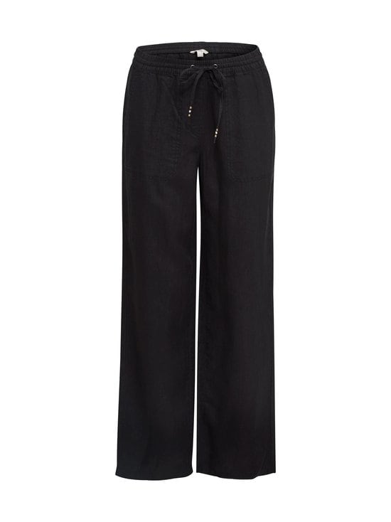 Esprit - Pellavahousut - 001 BLACK | Stockmann - photo 1