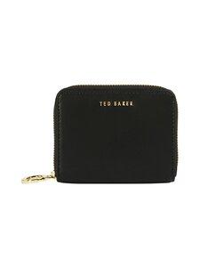 Ted Baker London - Deleena Small Zip Around Purse -nahkalompakko - 00 BLACK | Stockmann