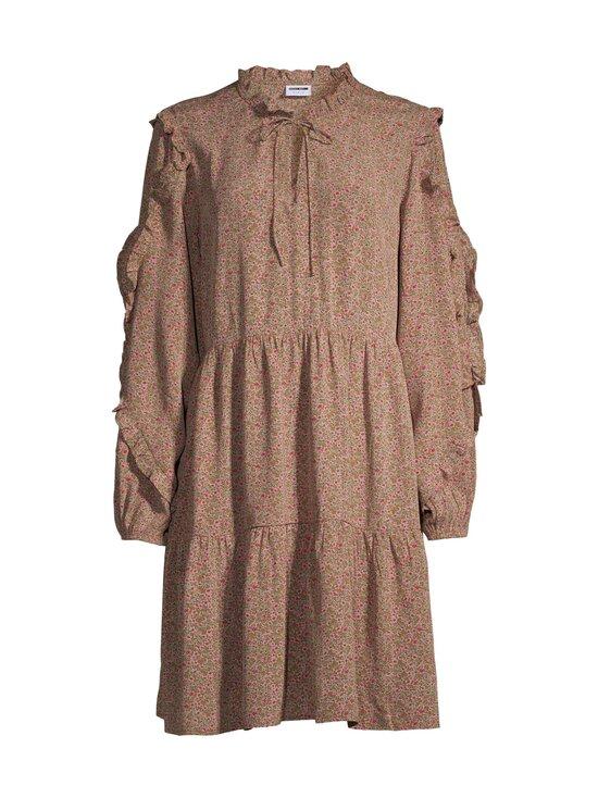 Noisy may - NmMare New LS Oversize Dress -mekko - FIR GREEN AOP:FESTIVAL FUCIA FLOWER | Stockmann - photo 1
