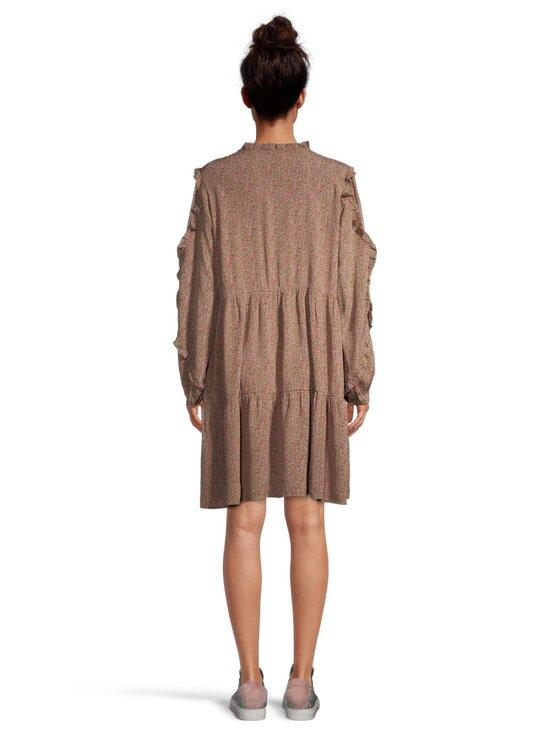 Noisy may - NmMare New LS Oversize Dress -mekko - FIR GREEN AOP:FESTIVAL FUCIA FLOWER | Stockmann - photo 3