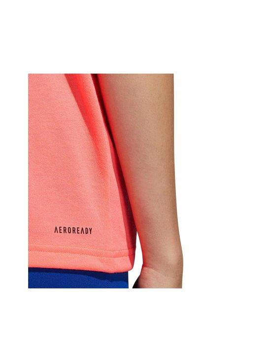 adidas Performance - Unleash Confidence Tee -paita - SIGNAL PINK / BLACK | Stockmann - photo 5