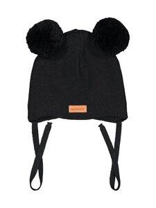 Metsola - Baby Beanie 2 pompom -pipo - 70 BLACK | Stockmann