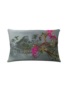Ted Baker London - Hibiscus-tyynyliina 50 x 60 cm - 03 HIBISCUS CHARCOAL   Stockmann