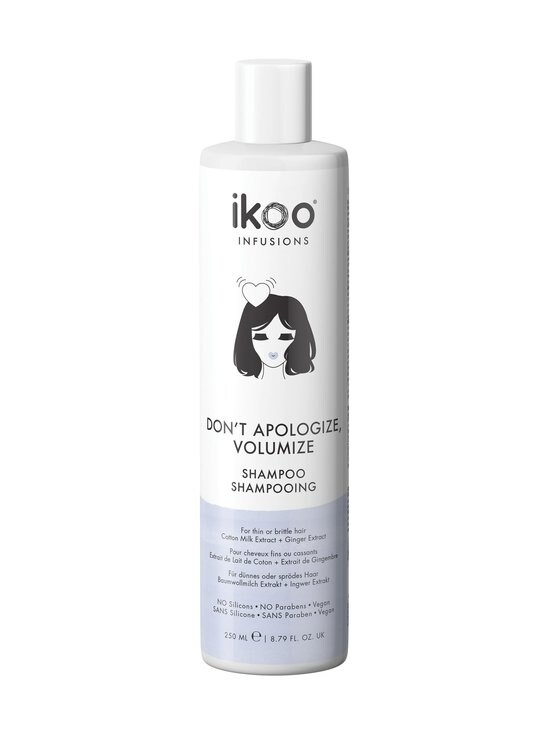 Ikoo - Don`t Apologize, Volumize -shampoo 250 ml - NOCOL | Stockmann - photo 1