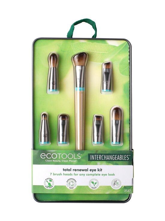 Eco Tools - Total Renewal Eye Kit, Interchangeable Collection -silmämeikkisivellinsetti - NOCOL | Stockmann - photo 1