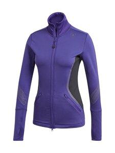 adidas by Stella McCartney - TruePace Midlayer Jacket COLD.RY -treenitakki - COLLEGIATE PURPLE / BLACK | Stockmann