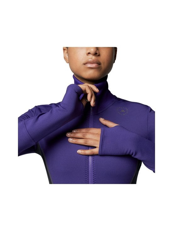 adidas by Stella McCartney - TruePace Midlayer Jacket COLD.RY -treenitakki - COLLEGIATE PURPLE / BLACK | Stockmann - photo 3