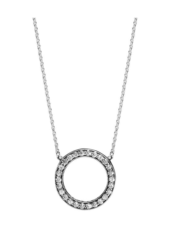 Pandora - Logo Reversible Silver Collier -kaulakoru - SILVER   Stockmann - photo 1