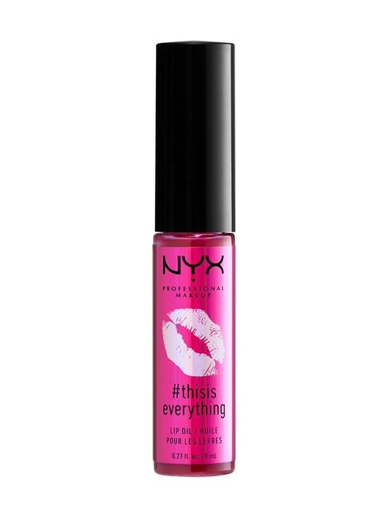 NYX Professional Makeup - #ThisIsEverything Lip Oil -huuliöljy 8 ml - 04 SHEER BERRY   Stockmann - photo 1