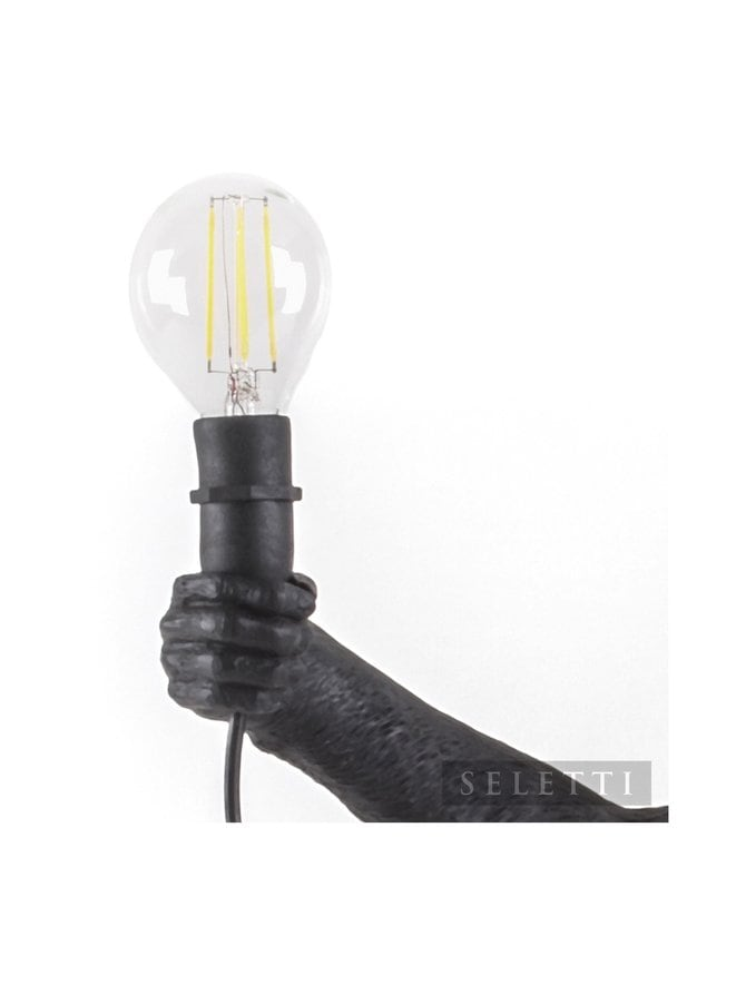 E14 replace LED Bulb for Monkey Lamp black outdoor 2 W