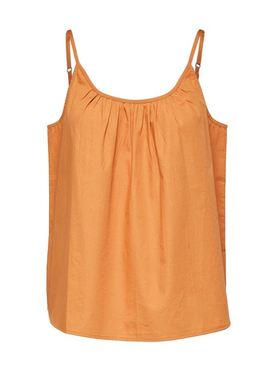 Selected - SlfCarlotta Strap Top B -toppi - CARAMEL | Stockmann - photo 1