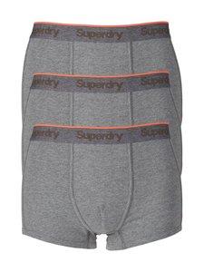 Superdry - Orange Label Trunk -bokserit 3-pack - DARK MARL (HARMAA) | Stockmann