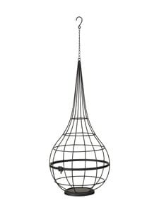 Wikholm Form - Hanging Pot S -amppeli 25 x 73 cm - BLACK MATTE   Stockmann