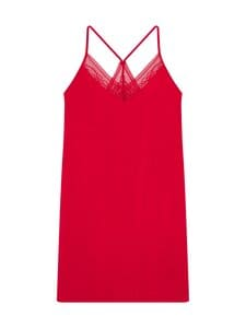 Tommy Hilfiger - Strappy Dress Lace -yöpaita - XLG PRIMARY RED | Stockmann
