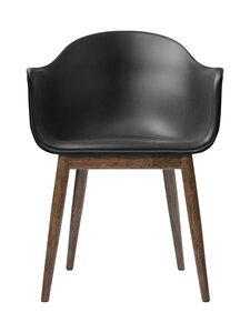 Menu - Harbour Dining Chair -tuoli - DARK STAINED OAK, BLACK | Stockmann