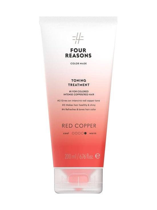 Four Reasons - Color Mask Toning Treatment -sävyttävä tehohoito 200 ml - RED COPPER | Stockmann - photo 1