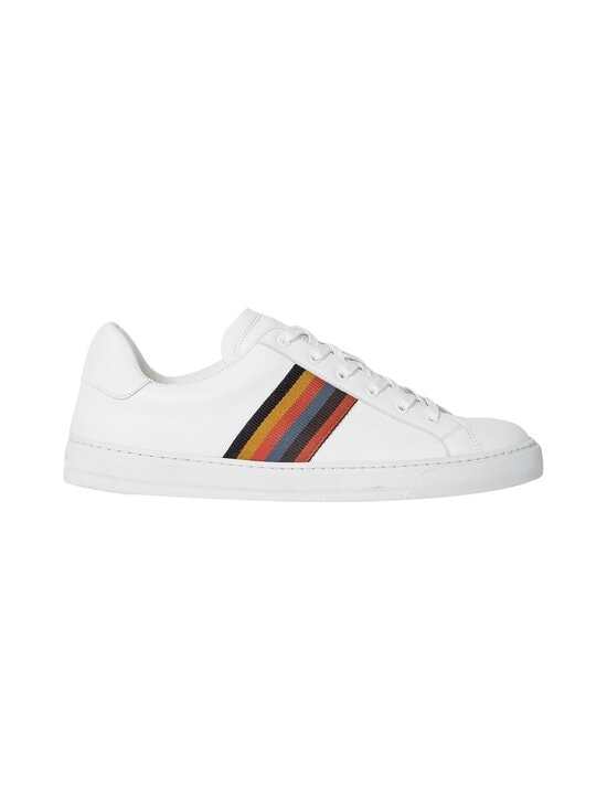 Paul Smith - Hansen-nahkatennarit - 01 WHITE ARTIST STRIPE | Stockmann - photo 1