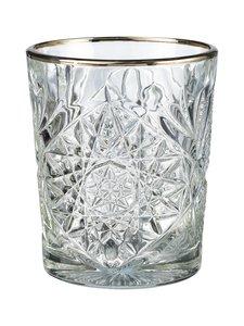Hobstar - Libbey Hobstar DOF Silver Rim -lasi 350 ml - KIRKAS | Stockmann