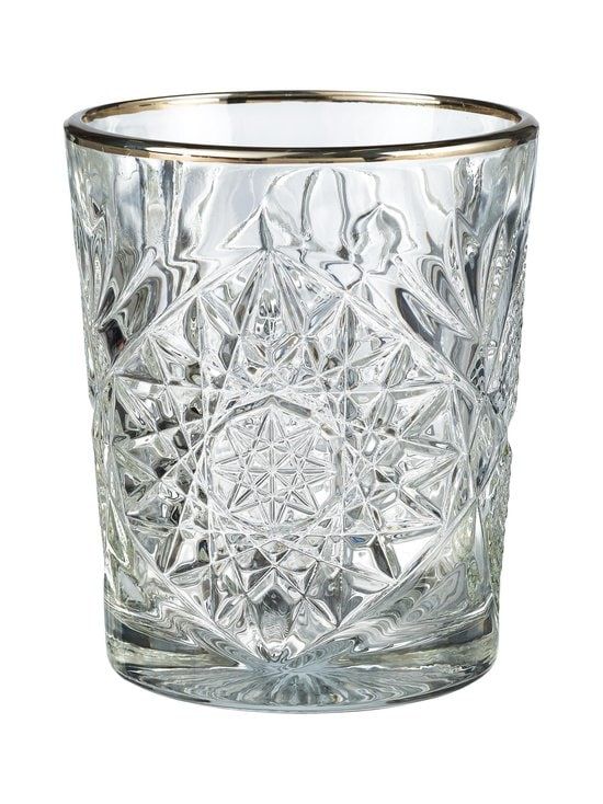 Hobstar - Libbey Hobstar DOF Silver Rim -lasi 350 ml - KIRKAS | Stockmann - photo 1