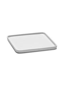 Serax - Heii Plate Square -lautanen 16 x 16 cm - WHITE | Stockmann