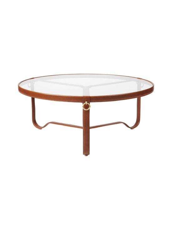 Gubi - Adnet Coffee Table Circular -sohvapöytä ⌀ 103 cm - TAN LEATHER   Stockmann - photo 1