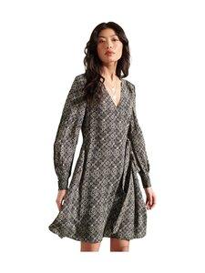 Superdry - Bohemian Wrap Dress -mekko - 3BT BLACK PRINT | Stockmann