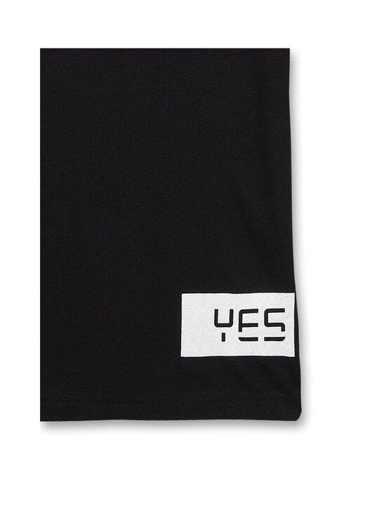 Sanetta - Athleisure Skate T-Shirt -paita - 10015 SUPER BLACK | Stockmann - photo 3