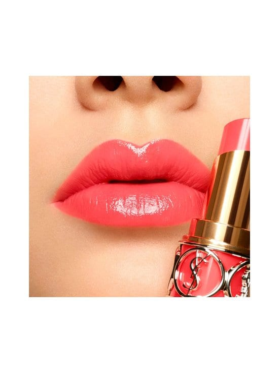 Yves Saint Laurent - Rouge Volupté Shine Lipstick -huulipuna - 43 ROSE RIVE GAUCHE | Stockmann - photo 3