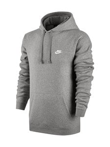 Nike - M Sportswear Hoodie -huppari - DARK GREY HEATHER (HARMAA) | Stockmann