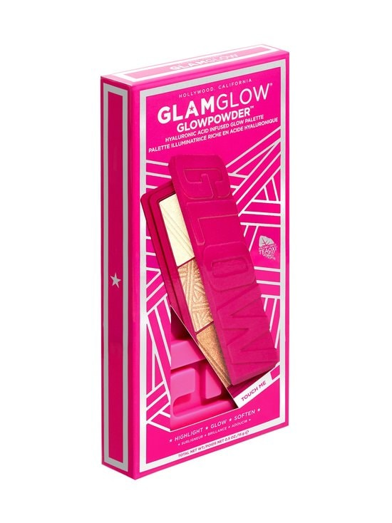 Glamglow - Glowpowder™ Hyaluronic Acid Infused Glow Palette -korostuspaletti 18 g - NOCOL | Stockmann - photo 2