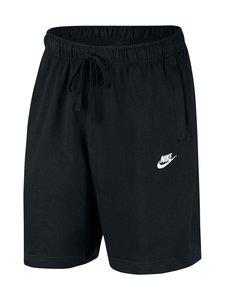 Nike - Sportswear Club Fleece -collegeshortsit - 010 BLACK/WHITE | Stockmann