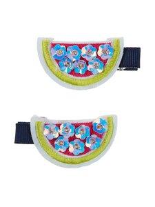 Hatley - Watermelon Slices -hiusklipsit 2 kpl - NATURAL | Stockmann