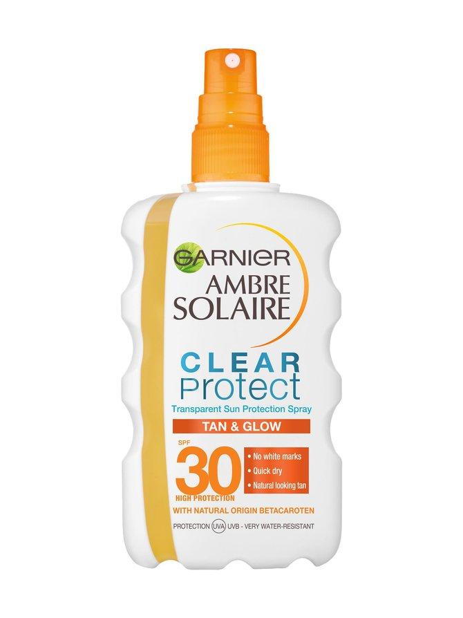 Ambre Solaire Clear Protect Bronze SPF 30 -aurinkosuojasuihke 200 ml