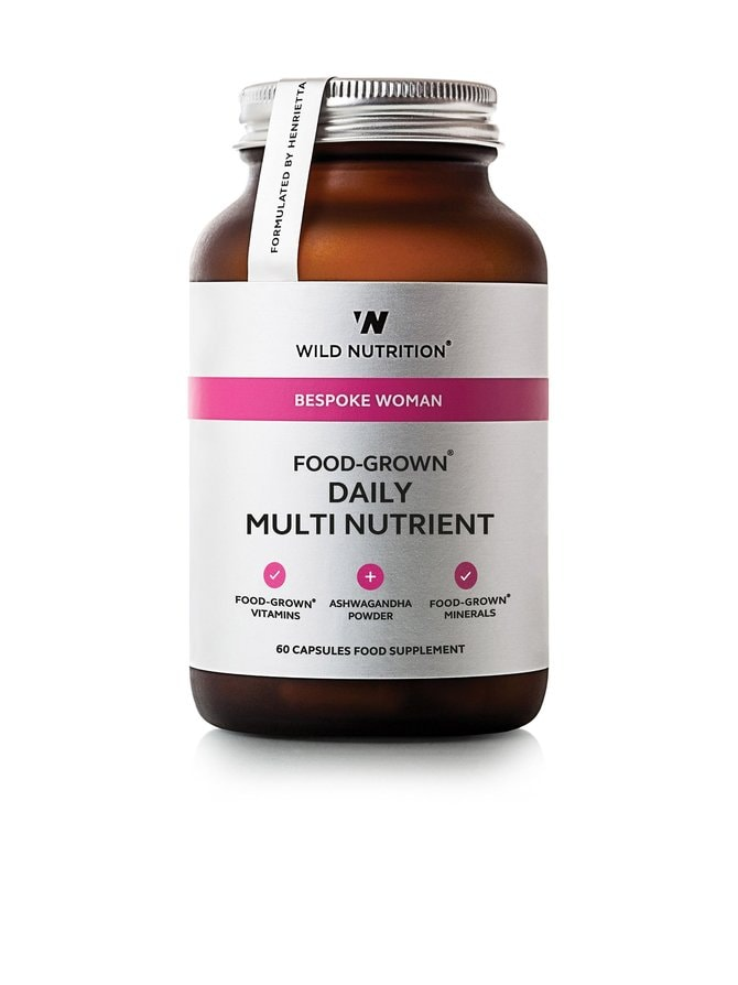 Food-Grown Daily Multi Nutrient Womens -ravintolisä 60 kaps.