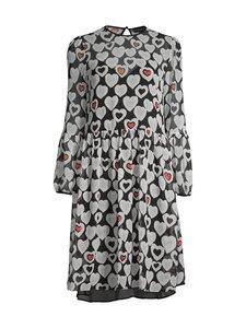 Emporio Armani - Dress Puff Sleeve -mekko - F002 BLACK CBO | Stockmann