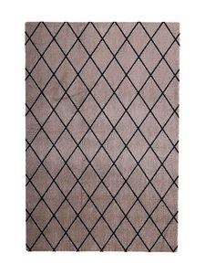 VM-Carpet - Salmiakki-matto 80 x 150 cm - BEIGE/MUSTA   Stockmann