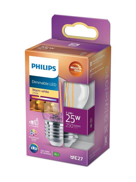 Philips - LED Candle 25W E27 Warm Glow Dimming -lamppu - WHITE | Stockmann - photo 1