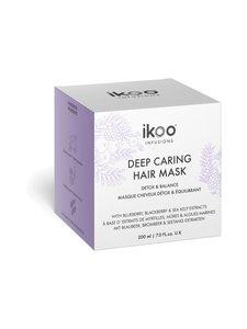 Ikoo - Deep Caring Mask Detox Balance -hiusnaamio 200 ml | Stockmann