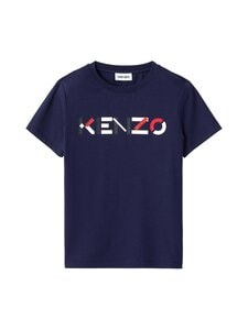 Kenzo - Logo Multico Classic T-Shirt -paita - 76 NAVY BLUE | Stockmann