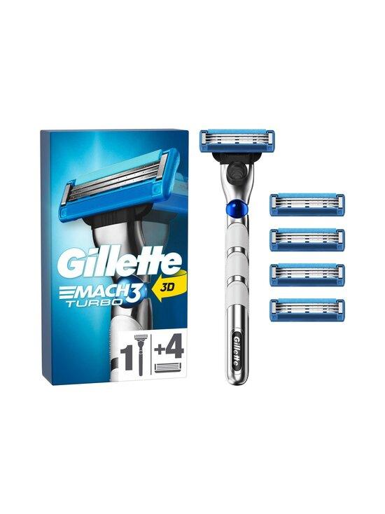Gillette - Turbo partahöylä ja 4 vaihtoterää - NOCOL | Stockmann - photo 1