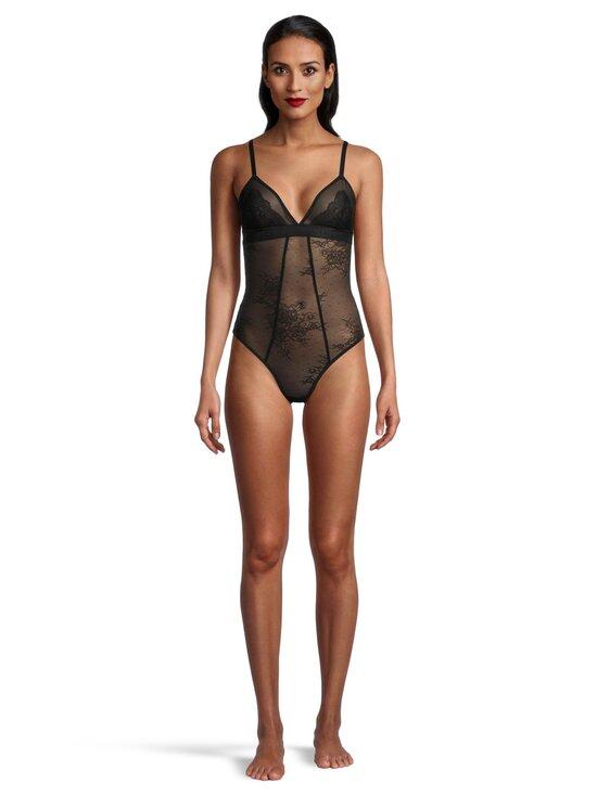 Karl Lagerfeld - Lace Body -body - 999 BLACK   Stockmann - photo 2