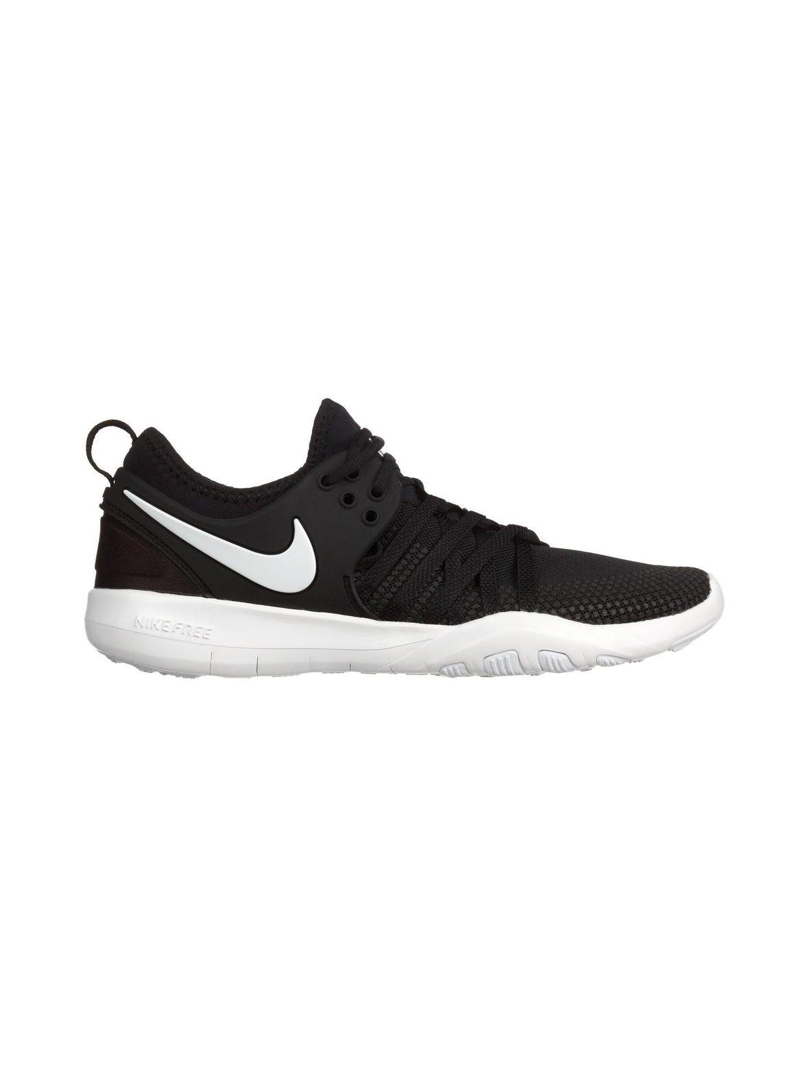 Black White (musta valkoinen) Nike Free TR7 -treenikengät naisille ... 1946345afd